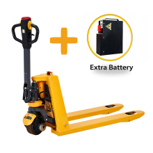 Xilin 1500kg 3300lbs 1.5 ton  Li-ion Powered Electric Pallet Truck with extra battery
