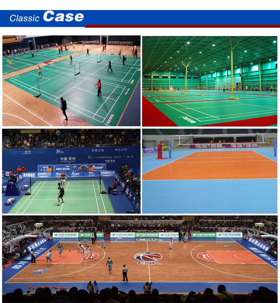 Indoor Basketball Or Gym Pvc Flooring