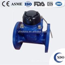 Venta caliente XDO-PDRRWM-50-300 fotoeléctrico distancia de lectura brida el contador del agua
