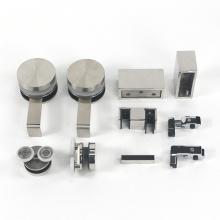 Shower room parts accessories Frameless Single sliding shower door hardware