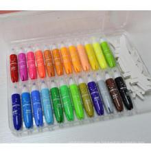 pluma de acuarela de marcador de smoonth de color claro