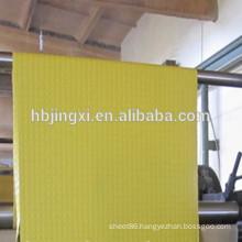 Yellow Round Stud Rubber Sheet