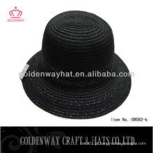 Chapéu de derby da trança de trança de papel