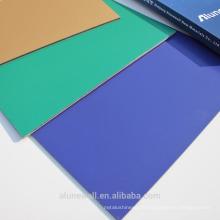 Meilleur vendre PVDF enduit Alunewall / panneau composite en aluminium 20 ans de garantie ACP