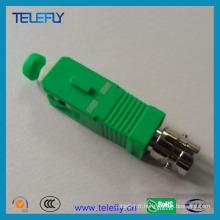 Adaptateur de câble à fibre optique Sc / APC / Male-St / Female