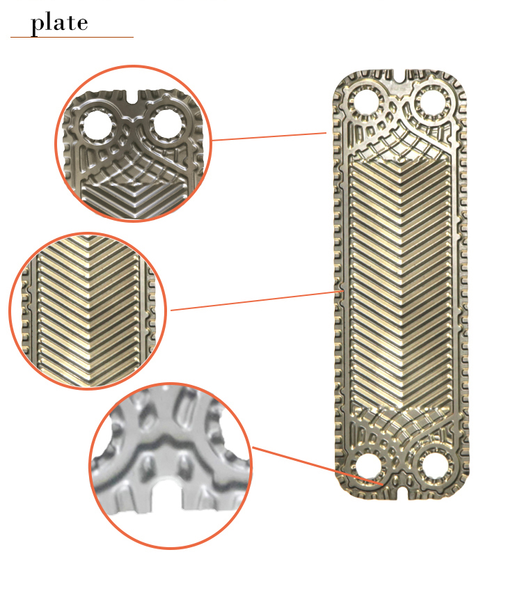 plates heat exchanger diagram