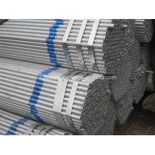 Tuyau en acier pré-galvanisé Q195-Q235 pour serre