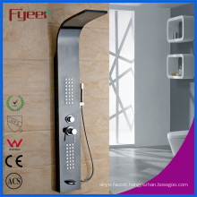 304 Stainless Steel Black Color Wall Mounted Shower Panel
