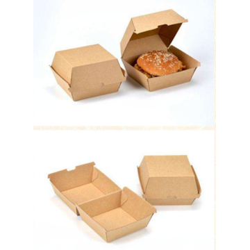 Kraft Paper Take Out Container