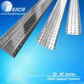 Bandeja de cabo HDG perfurada / revestida com epóxi Galvanizado / Revestimento em pó de epóxi de poliéster (UL.CE.c-UL.NEMA.ISO.IEC)