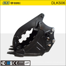 rock clamps, stone grapple, excavator grapple buckets for CASE