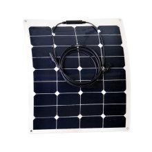 Alta eficiência 40W flexível painel solar China fabricante