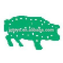 Zodiaco chino placa de animales de rosca bloque con ocho cuerdas de juguete