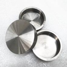 Pot de tungstène de creuset de tungstène de pureté de 99,95% pour la fonte