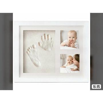 Драгоценный момент детское фоторамка отпечаток руки