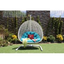 Outdoor Patio Garden Wicker Swing Chair PE Rattan Hammock