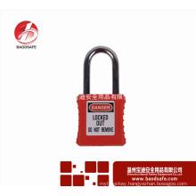 BAODI Safety Steel Xenoy Safety Padlock Lock shape A BDS-S8601