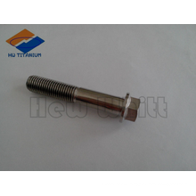 high strength titanium hex flange bolt