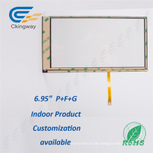 "6,95 ""4 Wire Resistive Touchscreen Glas"