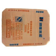 Single layer PP woven plastic cement bag