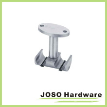 Glass Double Tube Fiitting Hardware to Ceiling Clamp (EA010)