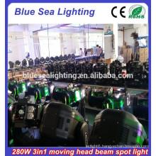 Super brightness moving head light Robe Orsam 280W beam 10r