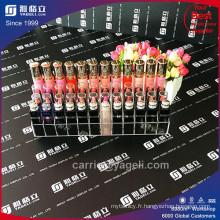 Fabricant en usine de prix moins cher, porte-crayons à lèvres acryliques