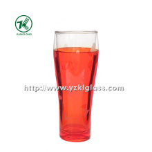 Red Double Wall Glass Bottle (6.5*5*18 280ml)