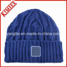 100% acrílico alta qualidade personalizado malha chapéu beanies