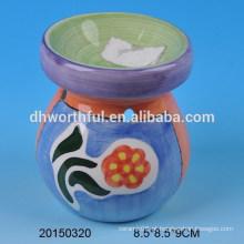 Queimador de óleo cerâmico colorida da decoração Home