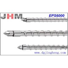 Tornillo de inyección EPS6000 (acero de aleación en polvo)
