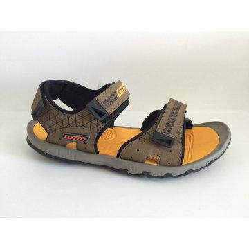 2016 mais novos sapatos de praia sandália para homens