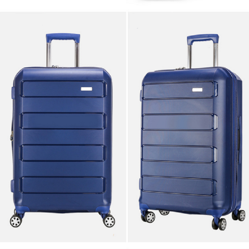 Blue Pp Luggage
