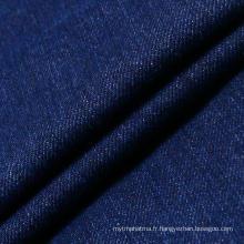 Blue Stretch Cotton Spandex Denim Fabric pour femme Jeans