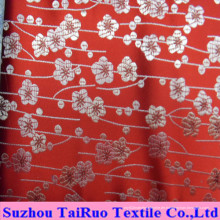 Polyester-Seidensatin mit Stickerei für Vorhang und Bettlaken