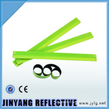 LED reflective slap wrap elastic pvc reflective armband