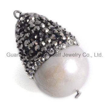 Pierres perles naturelles Pendentif Bijoux pour Collier Bracelet Boucle d'oreille