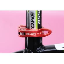 Suporte de banco de bicicleta de liberação rápida MTB peças de bicicleta braçadeira de assento AL6061 braçadeira de 31,8 / 34,9 mm peça de bicicleta