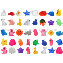 OEM Various Swimming Pool Bathtub Floating Animal Plastic Toy