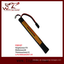 Stick Firefox-1600mAh 7.4V 20 c Li-Po-Li-Polymer-Akku