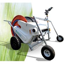 melhor sistema de irrigação de carretel de mangueira sprinkler