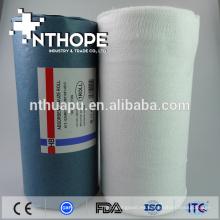 almohada de rollos de gasa absorbente desechable médica