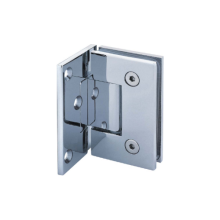 Solid Brass Glass to Glass Hinge 90 Degree
