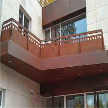 Laser Cut Architectural Metal Railings