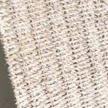 tronc de stockage d'herbe de mer d'eau blanche de lavage carré