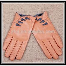 Art und Weise entworfener handgemachter lederner Handschuh