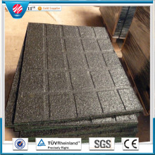 Drainage Rubber Mat Rubber Factory Direct Indoor Rubber Tile Wearing-Resistant Rubber Tile