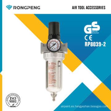 Rongpeng R8039-2 filtro de aire y regulador de aire debajo de la pistola de recubrimiento Air Tool Accessories