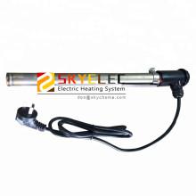 Calentadores de acuicultura de titanio de tubo único personalizados
