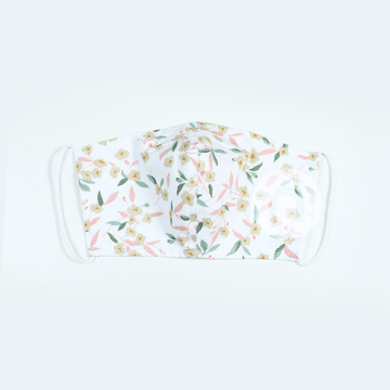 ALL-OVER FLORAL TEXTILE MASK